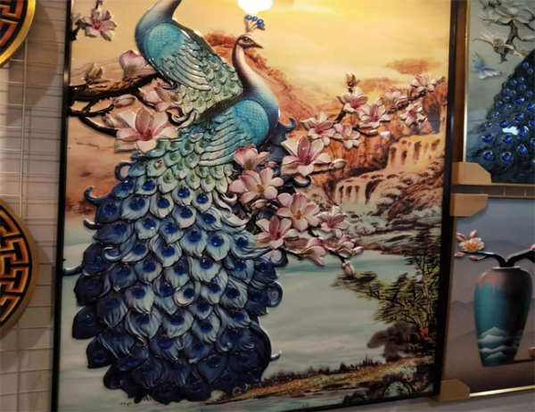 吴江水晶烤瓷画